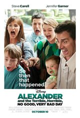 Alexander and the Terrible, Horrible, No Good, Very Bad Day Movie Poster Movie Poster