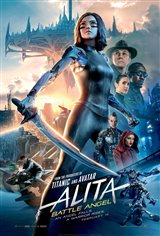 Alita: Battle Angel Movie Poster Movie Poster