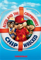 Alvin and the Chipmunks: Chipwrecked Large Poster