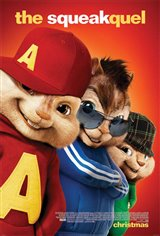 Alvin and the Chipmunks: The Squeakquel Movie Poster