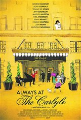 Always at The Carlyle Affiche de film
