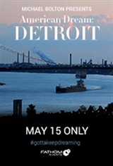 American Dream: Detroit Large Poster