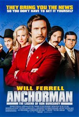 Anchorman: The Legend of Ron Burgundy Movie Poster Movie Poster
