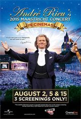 André Rieu's 2015 Maastricht Concert Movie Poster