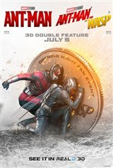 Ant-Man + Ant-Man and The Wasp 3D Double Feature Affiche de film