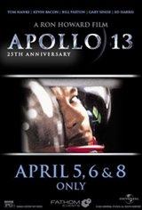 Apollo 13 25th Anniversary Movie Poster