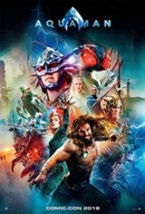 Aquaman 3D Large Poster