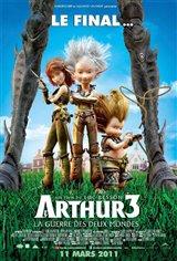 Arthur 3 : La guerre des deux mondes Affiche de film