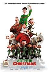 Arthur Christmas 3D Movie Poster