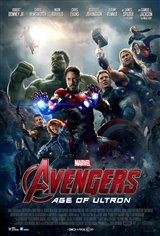 Avengers: Age of Ultron 3D Movie Poster