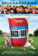 Back in the Day (2014) Movie Poster