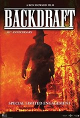 Backdraft 30th Anniversary Movie Poster