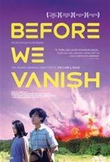 Before We Vanish (v.o.s.-t.a.) Affiche de film