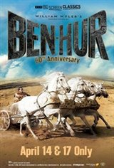 Ben-Hur 60th Anniversary (1959) presented by TCM Movie Poster