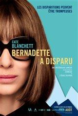 Bernadette a disparu Affiche de film