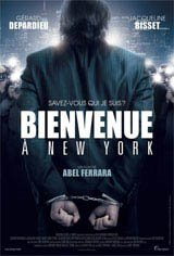 Bienvenue à New York Affiche de film
