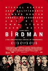 Birdman ou (les vertus insoupçonnées de l'ignorance) Affiche de film