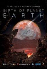 Birth of Planet Earth Affiche de film