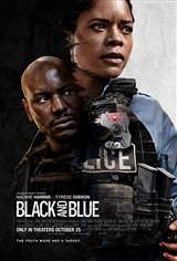Black and Blue Movie Poster Movie Poster