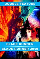 Blade Runner 2049 + Blade Runner: The Final Cut Double Bill Movie Poster