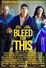 Bleed for This Movie Poster Movie Poster