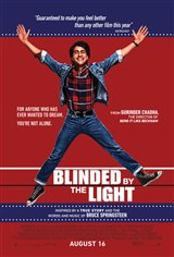 Blinded by the Light (v.o.a.) Affiche de film