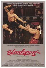 Bloodsport Movie Poster
