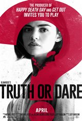Blumhouse's Truth or Dare Movie Poster Movie Poster