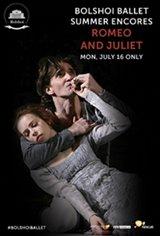 Bolshoi Ballet: Romeo and Juliet ENCORE Movie Poster
