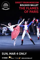 Bolshoi Ballet: The Flames of Paris (Les Flammes de Paris) Movie Poster
