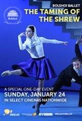 Bolshoi Ballet: The Taming of the Shrew Movie Poster
