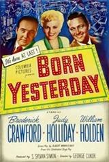 Born Yesterday (1950) Movie Poster