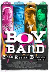 Boy Band Movie Poster