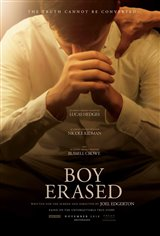 Boy Erased Affiche de film