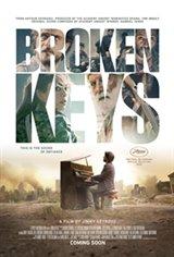 Broken Keys Large Poster