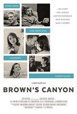 Brown's Canyon Affiche de film
