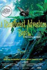 Bugs!  A Rainforest Adventure 3D Movie Poster