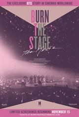 Burn the Stage: The Movie Large Poster