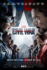 Captain America: Civil War 3D Movie Poster