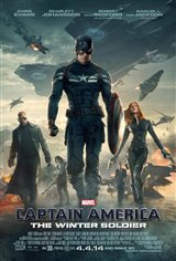 Captain America: The Winter Soldier 3D Movie Poster