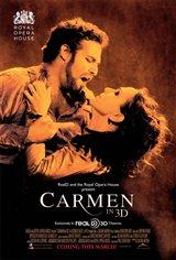 Carmen in 3D Movie Poster