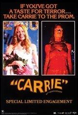 Carrie 45th Anniversary Affiche de film