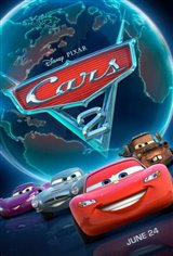 Cars 2 3D Movie Poster