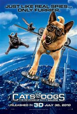 Cats & Dogs: The Revenge of Kitty Galore 3D Movie Poster