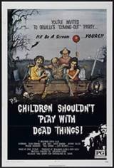 Children Shouldn't Play With Dead Things (1972) Movie Poster