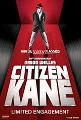 Citizen Kane 80th Anniversary Movie Poster