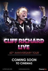 Cliff Richard Live: 60th Anniversary Tour Movie Poster