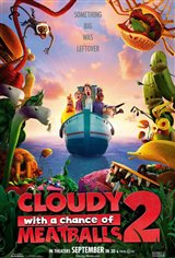 Cloudy with a Chance of Meatballs 2 Movie Poster Movie Poster