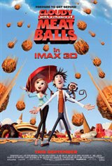 Cloudy with a Chance of Meatballs: An IMAX 3D Experience Movie Poster