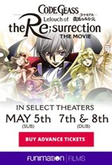 Code Geass: Lelouch of the Re;surrection Large Poster